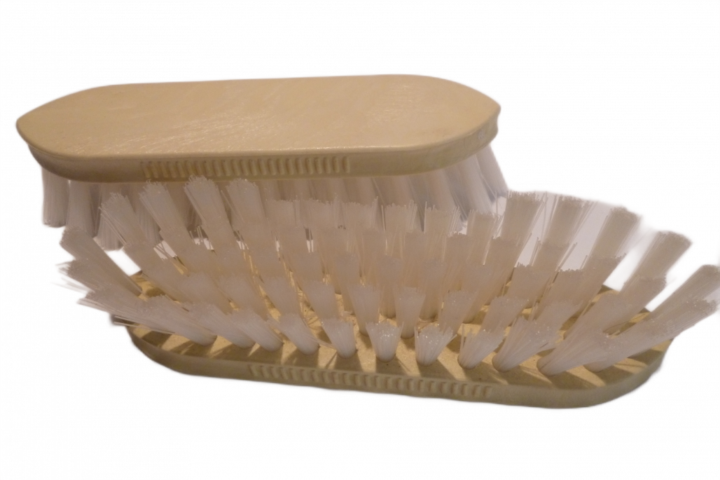 Putzbürste Nylon doppelspitz