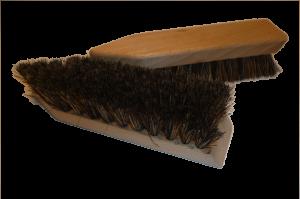 Schuhschmutzbürste weich Natur