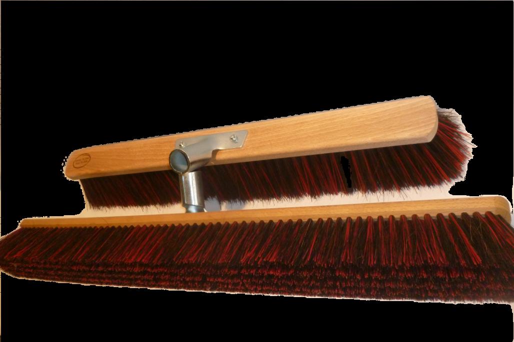 Straßenbesen Arenga Elaston mit Halter dichte Ausführung 40 cm