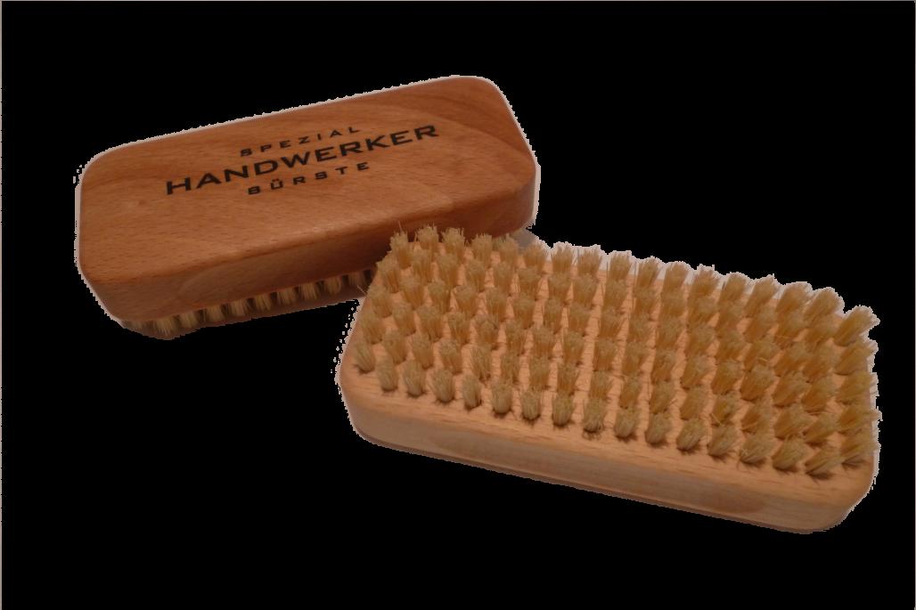 Handbürste Spezial Handwerker sehr harte Naturborsten