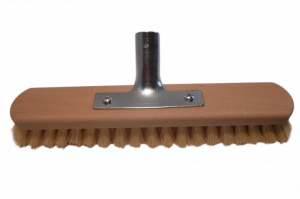 Schrubber 30 cm Fibre mit Halter