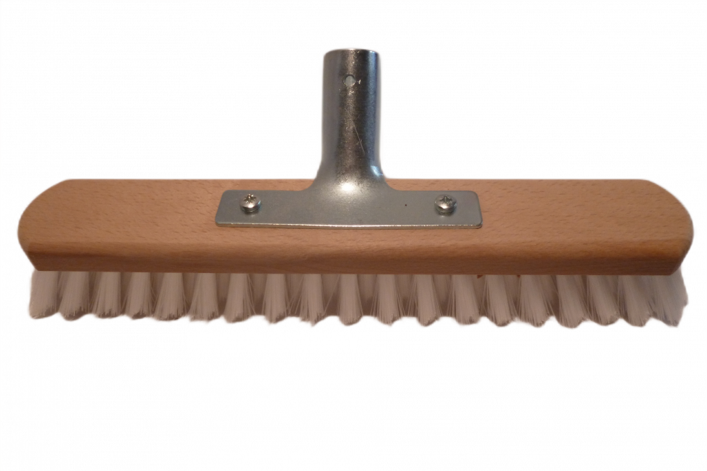 Schrubber 30 cm Nylon mit Halter