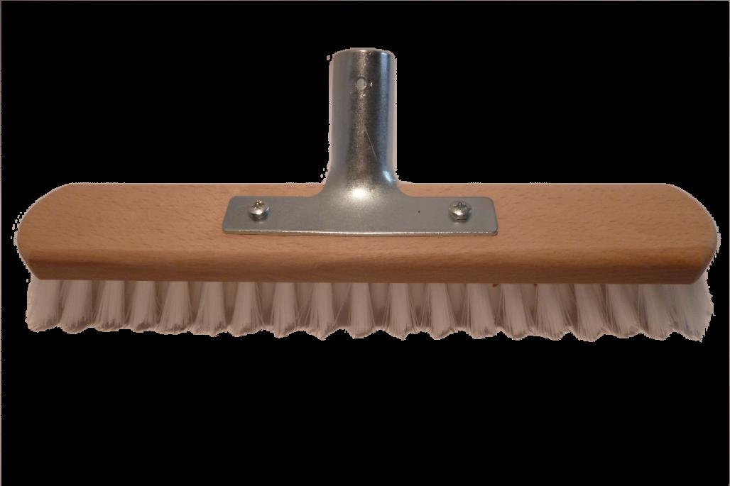 Schrubber 40 cm Nylon mit Halter