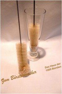 Reinigungsbürste Natur mit Baumwolle 50 cm, Durchmesser 40 mm