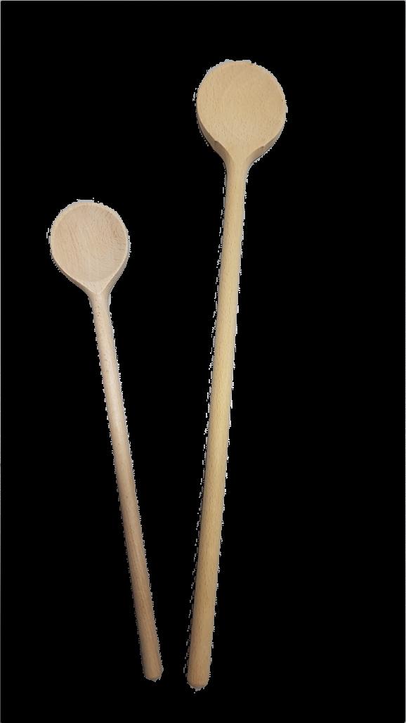 Kochlöffel rund ca. 30 cm Holz