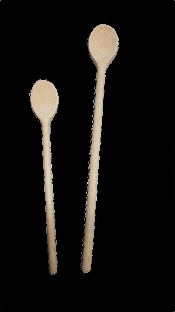 Kochlöffel oval ca. 30 cm Holz